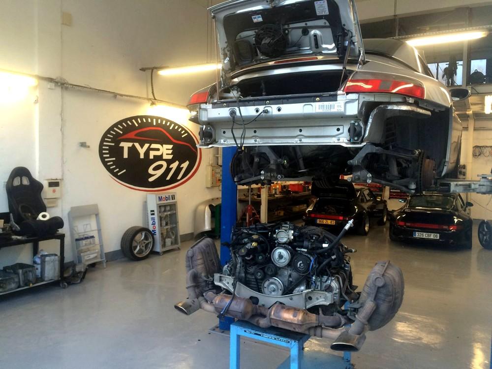 Restauration moteur de Porsche - Garage TYPE 911