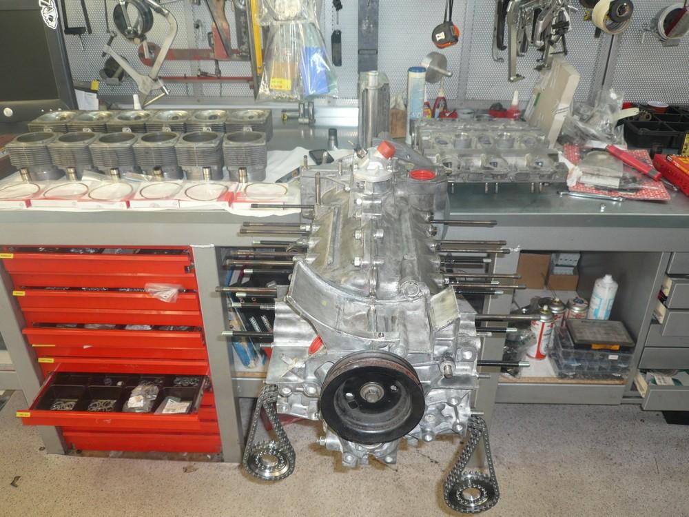 Remontage moteur Porsche - Garage TYPE 911